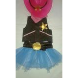 Disfraz Sheriff Callie Sombrero Pañuelo Chaleco Falda