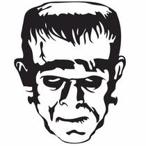 Adesivo Frankenstein Monstro Filme De Terror