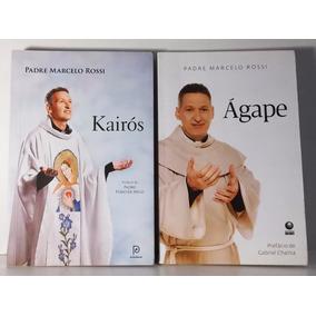 2 Livros Kairós / Ágape - Padre Marcelo Rossi
