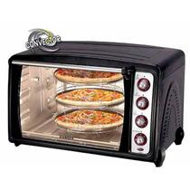 Horno Electrico Ranser 85l Kit Pizzero Spiedo 3200 He-ra50rc