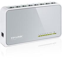 Tp-link, Switch Con 8 Puertos De Escritorio, Tl-sf1008d