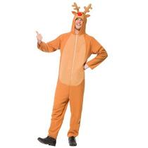 Disfraz De Rodolfo El Reno De Navidad, Venado Para Adultos