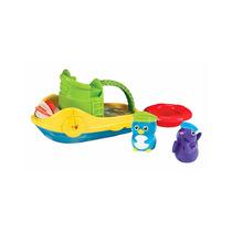 Brinquedo Banho Barquinho Com Bichinhos Infantil Munchkin