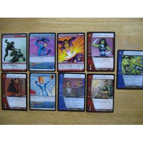 9 Tarjetas De Marvel X-men En 100.00 Todas