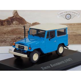 Miniatura Toyota Bandeirante 1/43 Jeep Inesquecíveis Brasil