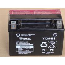 Bateria Yuasa Ytx9-bs Cb500 98/05 Vt600 Shadow Xt600e Cbr900