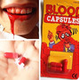 Cápsulas De Sangue Artificial Helloween Dia Das Bruxas