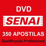Dvd - 350 Apostilas - Cursos Profissionalizantes - Senai