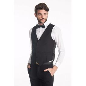 Chaleco Vestir Hombres + Camisa + Pantalon Gabardina Jean
