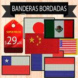 Banderas Bordadas De Todos Los Paises Del Mundo