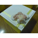 Souvenirs Caja Con Angel En Porcelana Comunion Bautismo