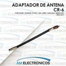 Adaptador De Antena Autoestereo Chrysler Dodge Ford 02-11