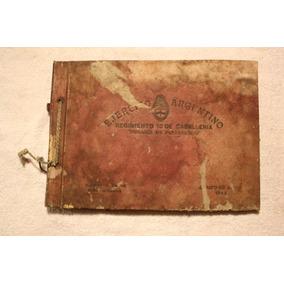 Antiguo Album Ejercito Argentino
