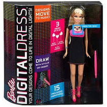 Barbie Vestido Digital Mattel 100% Ori