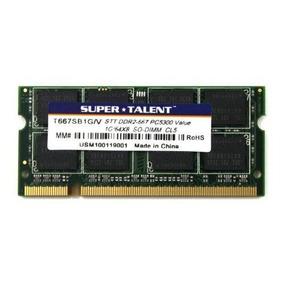 Memoria Ram 1gb Ddr2 Para Notebook Netbook