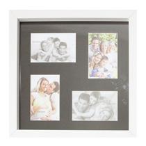 Porta Retrato Quadro Parede 39x39 4 Foto V- Cores 10x15 7211