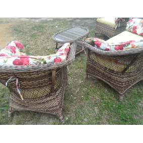 Conjunto De Poltronas Decorativas Para Jardim E Varanda Rj