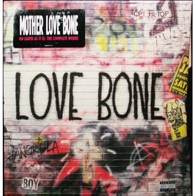 Mother Love Bone On Earth As It Is 3 Cd + Dvd Pearl Jam