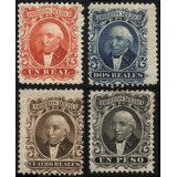 2388 Clasico Hidalgos Sin Distrito 4 Sellos Mint L H 1864