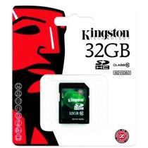 Memorias Sd Hc 32gb Kingston Clase 10 Combo 3 Unid. Oferta!!