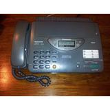 Fax Teléfono Contestador Panasonic Kxf700 Papel Térm +manual