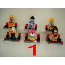 Dragon Ball One Piece Naruto Goku Gohan Majim Bu = Lego