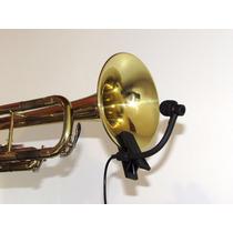 03 Microfones Instrumento Sopro + 03 Adaptadores Pantompower