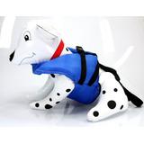 Colete Salva Vida Azul - Para Cachorro - Raças Pequenas