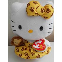 Hermoso Peluche De Hello Kitty Ty Changuito! Envio Gratis