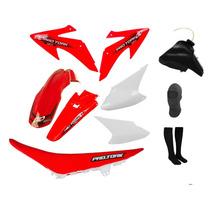 Kit Plasticos Crf230 Conjunto + Tanque + Banco + Brindes