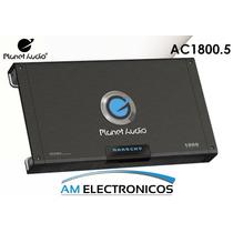 Amplificador 5 Canales Planet Audio Ac1800.5 1800watts