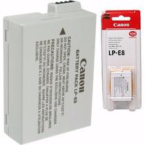 Bateria Canon Lp-e8 Original Lp E8 T3i T4i T5i Kiss X4 X5