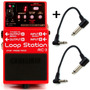 Pedal De Loop Station Para Guitarra Baixo Violão Boss Rc-3