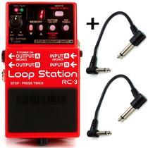 Pedal De Loop Station Para Guitarra Baixo Violão Boss Rc-3