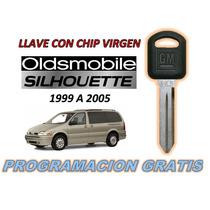 99-05 Oldsmobile Silhouette Llave Con Chip Virgen
