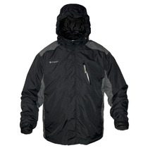 Forest Campera 2 En 1 Cuyo Impermeable Polar Desmontable