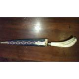 Cuchillo Antigua Hoja Juca De 20 Cm Vaina Tipo Picasa