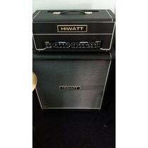 Amplificador Hiwatt G100r Hd +caixa Hiwatt 4x12