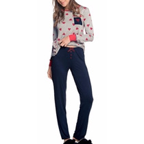 Pijama Feminino Daniela Tombini - Qualidade E Conforto M562
