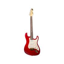 Guitarra Dolphin St Rocket Vermelho Flame Top - Loja Física