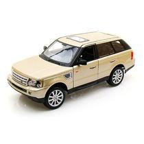 Bburago Range Rover Sport, Escala 1:18, Color Dorado