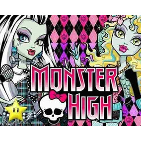 Gran Kit Imprimible Monster High Diseñá Tarjetas, Cumples