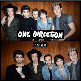 Cd One Direction Four (standar) Open Music