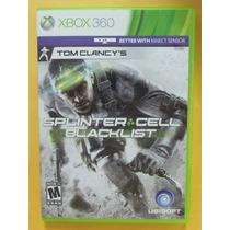 Splinter Cell Blacklist Para Xbox 360