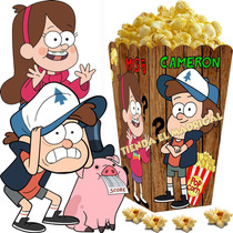 Kit Imprimible Gravity Falls Cotillon Y Candy Bar Y+ 2x1