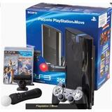 Kit Consola Playstation Move 250gb C/2 Juegos Sony.