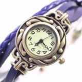 Reloj Con Dije Moderno De Cuero Paquete De 12 Unidades