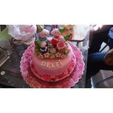 Torta 1 Piso Cerdita Peppa -- Peppa Pig Familia