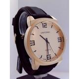 Reloj Hombre Marca Uniform Malla Silicona Uk-011