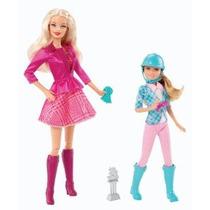 Barbie Y Sus Hermanas En Un Pony Tale Barbie Y Stacie Muñeca